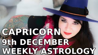 Capricorn Weekly Astrology Horoscope 9th December 2019
