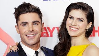 Zac Efron CONFIRMS Alexandra Daddario Relationship With RISQUE Instagram Comments?