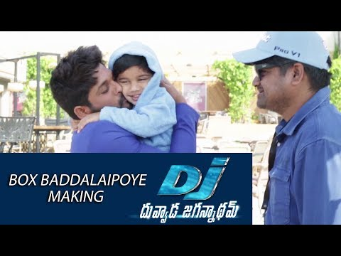 Box-Baddalaipoye-Song-Making---DJ-Movie-Making