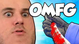 BOWIE KNIFE UNBOXING!? (CSGO Bowie Knife)