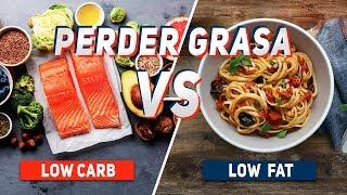 PERDER GRASA: LOW-FAT vs LOW-CARB   The Fit Club