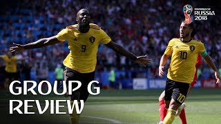 Belgium and England progress - Group G Review!