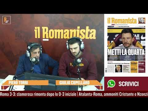 Piero Torri commenta Atalanta-Roma 3-3: