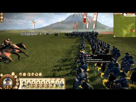 Total War: Shogun 2 - Fall of the Samurai footage