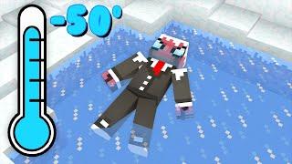 100 GÜN BUZDA HAYATTA KALMAK 🧊 - Minecraft