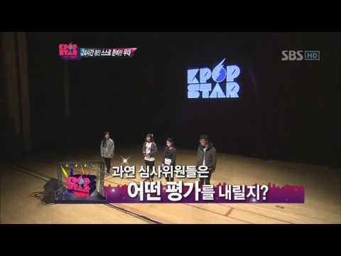 KPOPSTAR ep6. Leeyoojin&Leehai&Choibanseok&Parknamkyung-Childish adult