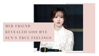Goo Hye Sun's Close Friend Reveals Why She's Revealing All Of The Shocking Details About Ahn Jae Hyu