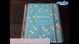 Review - Planner 2018 Enjoy Print - Spring evening - Miky Braga
