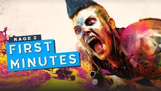 First 40 Minutes of RAGE 2 (GAMEPLAY)