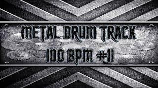 90's Metal Drum Track 100 BPM (HQ,HD)
