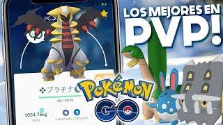 LOS MEJORES POKEMON EN PVP POR LIGA!!   1081   POKEMON GO