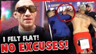 Tony Ferguson BREAKS SILENCE on loss to Charles Oliveira, Mark Hunt SWINGS AT opponent at weigh-ins
