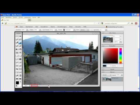 Sumopaint - Bildgröße bearbeiten - Bilder vergrößern und verkleinern
