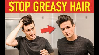 STOP Greasy Hair! How to Style Second Day Hair | Mens Hairstyle Tips - YouTube