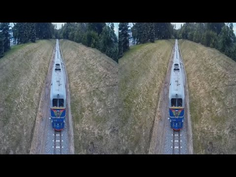 Railway in 3D!3D VIDEO + 3D Photo