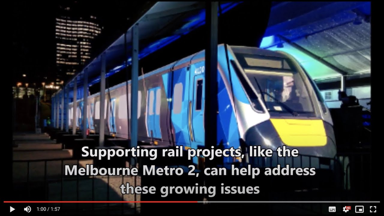 Why Melbourne Metro 2 (MM2) is the next logical step for Melbourne's transport.