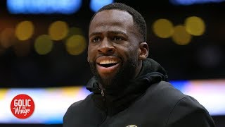 Draymond laughs at 'disrespectful' Warriors detractors | Golic and Wingo