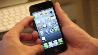 Apps on the iPhone 5