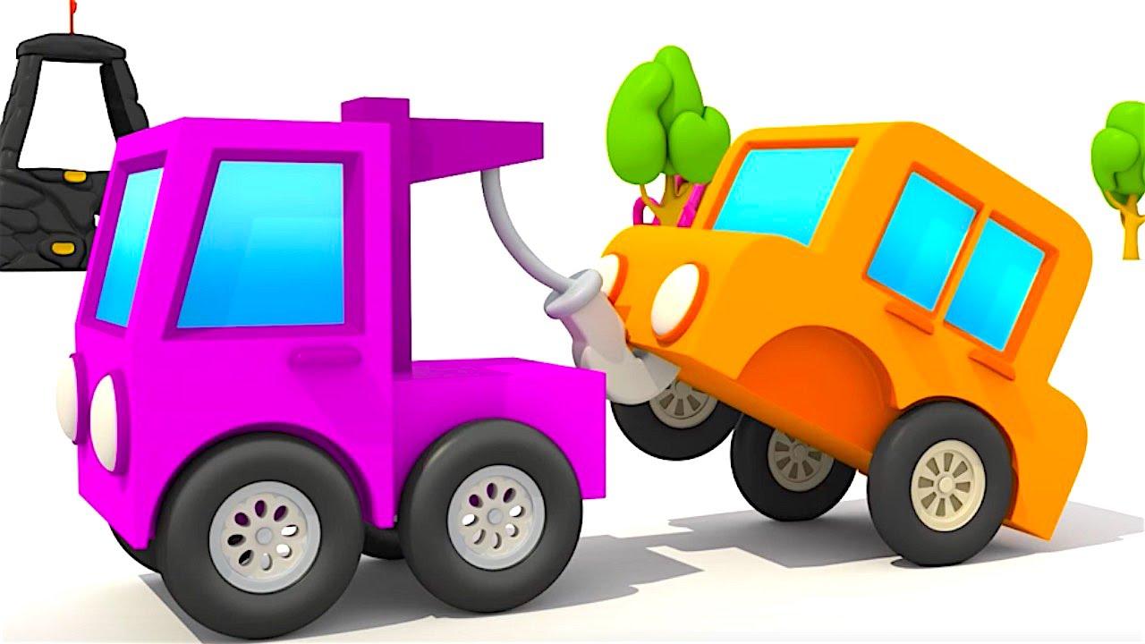 El Camión De Remolque La Excavadora Max