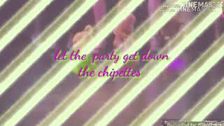 Let the party get down the chipettes
