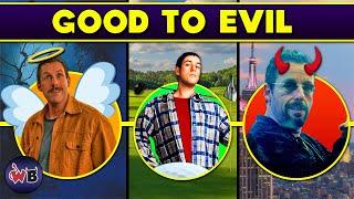 Adam Sandler Characters: Good to Evil