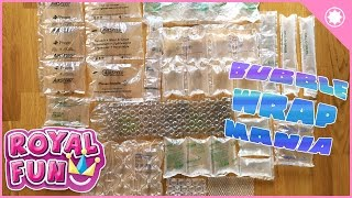 Bubble Wrap Mania – Popping 15 kinds!! Top 15 Pop!