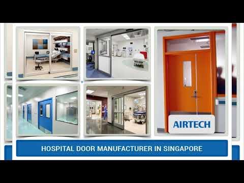 Hospital Doors Supplier in Singapore