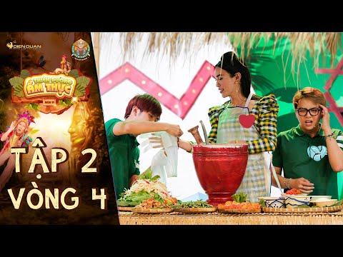 Thiên đường ẩm thực 6 | Tập 2 Vòng 4: Ty Thy làm gỏi trộn quyến rũ Gin khiến Duy Khánh phát ghen