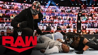 RETRIBUTION demolish The Hurt Business: Raw, Sept. 21, 2020