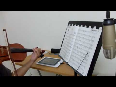 蕭煌奇-只能勇敢(Brave Heart)  Violin Cover