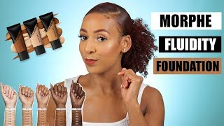 MORPHE FLUIDITY FOUNDATION | FIRST IMPRESSION REVIEW