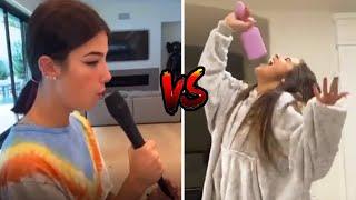 Charli D'Amelio vs Addison Rae singing