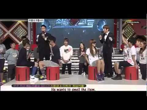 [ENG] 111005 SJ Yesung F(x) Victoria Amber Game Cuts @ BC