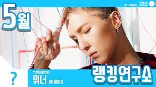 [랭킹연구소] 2019년 5월 보이그룹 순위 (남자아이돌 브랜드)   K-POP IDOL Boy Group Chart (May Brand)