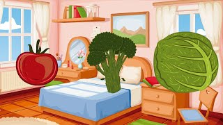 Learning for babies: vegetables | Educational video for children: vegetables