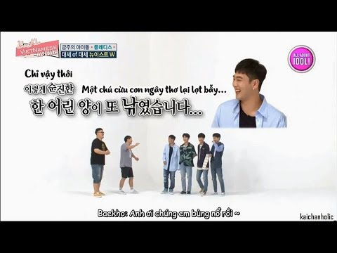 [MYBaekhoVN] [VIETSUB] WEEKLY IDOL 318 - Pledis special (NU'EST W, Pristin, Han Donggeun & Raina).