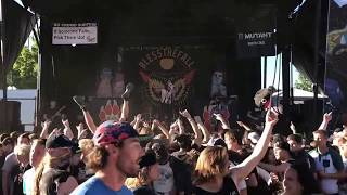 Blessthefall youngbloods live warped tour 2017 Salt Lake City