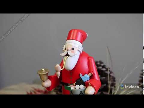 Christmas German Incense Smokers | Timothy De Clue Collection