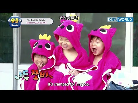 The Return of Superman - The Triplets Special Ep.28 [ENG/中文字幕/2017.12.01]