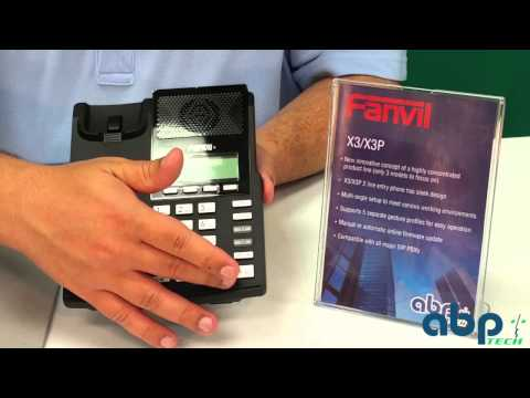FANVIL X3 Entry Level IP Phone Unboxing