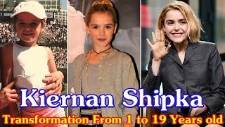 Kiernan Shipka transformation from 1 to 19 years old