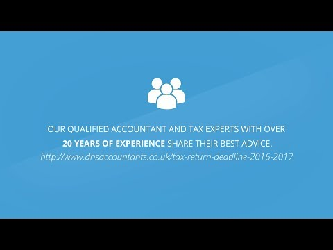 Tax Return 2016 2017 - Self Assessment UK Tax Returns