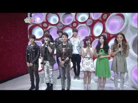 EXO-K @ SBS Inkigayo [Interview]