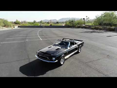 video 1968 Shelby GT500 KR Convertible