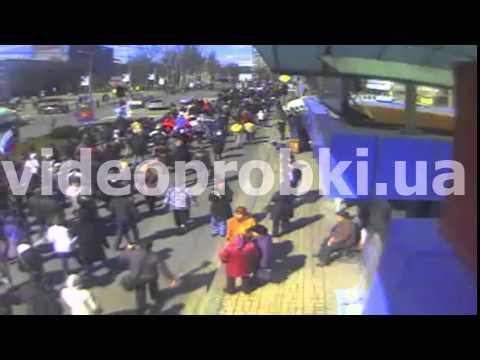 Шествие в Донецке