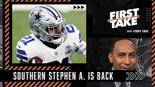 Southern Stephen A. returns to make surprise pick for most important NFC East player   First Take