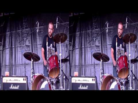 3D Live Music - Left Lane Cruiser @ Binic Folk Blues Festival (05/08/2011) #03