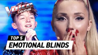 MOST EMOTIONAL Blind Auditions in The Voice that made the coaches cry