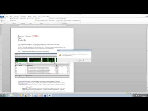 Mapping Your SolidWorks EPDM Data Into an Office Document