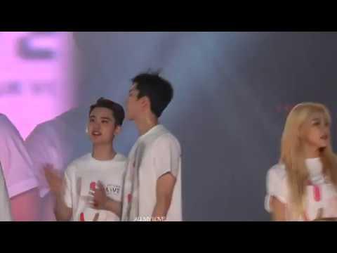 EXO Sehun and Red Velvet Yeri moments compilation ( HUNRI )